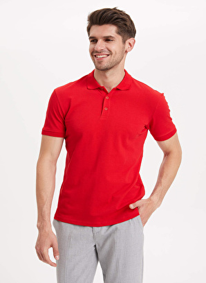 DeFacto Slim Fit Basic Polo T-shirt